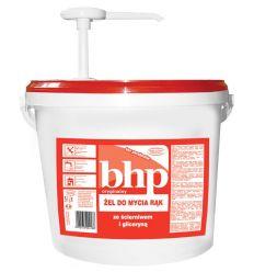 Żel ze ścierniwem i gliceryną 5 l z pompką BHP