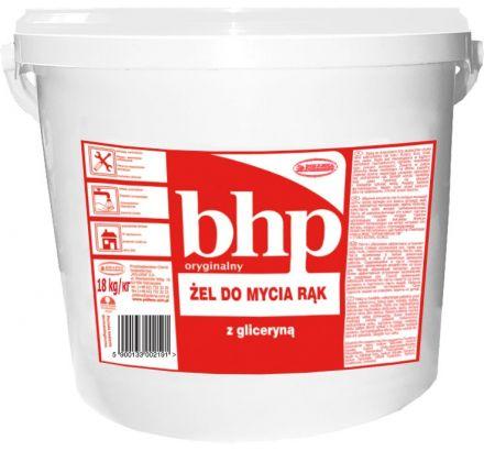 Żel ze ścierniwem i gliceryną 18 kg BHP