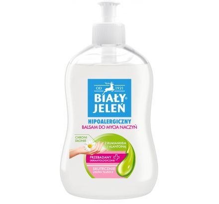 Balsam do mycia naczyń Biały Jeleń hipoalergiczny