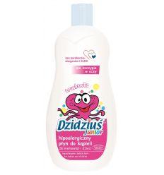 Hipoalergiczny płyn do kąpieli o zapachu truskawki Dzidziuś