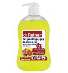 Żel peelingujący do mycia rąk przeciw uporczywym zabrudzeniom Dr Reiner