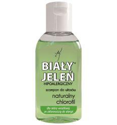 Biały Jeleń szampon do włosów z naturalnym chlorofilem 50ml