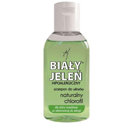 Hipoalergiczny szampon do włosów BIAŁY JELEŃ z naturalnym chlorofilem