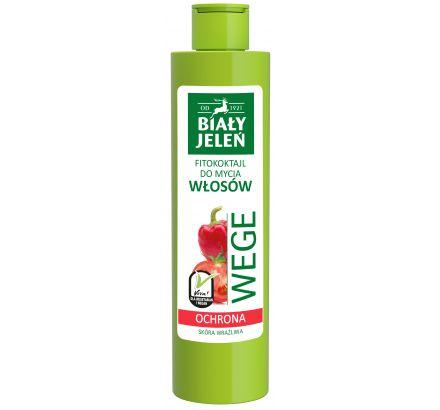 Biały Jeleń FITOkoktajl do mycia włosów pomidor i papryka WEGE 250 ml