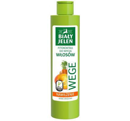 Biały Jeleń FITOkoktajl do mycia włosów marchew i dynia WEGE 250 ml