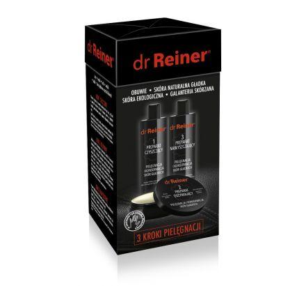 3 kroki pielęgnacji skór gładkich ZESTAW dr Reiner