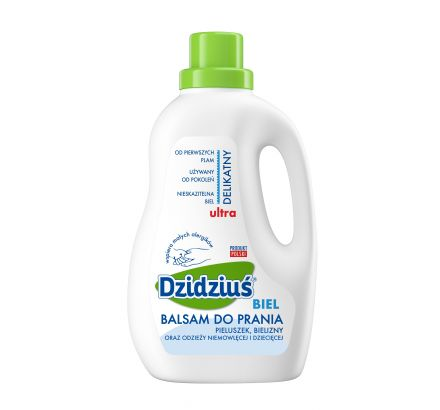 Dzidziuś balsam do prania biel 1,5 l