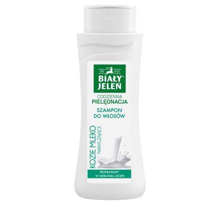 Szampon do włosów Biały Jeleń hipoalergiczny z kozim mlekiem