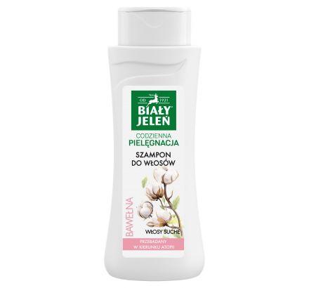 Szampon do włosów Biały Jeleń hipoalergiczny z czystą bawełną