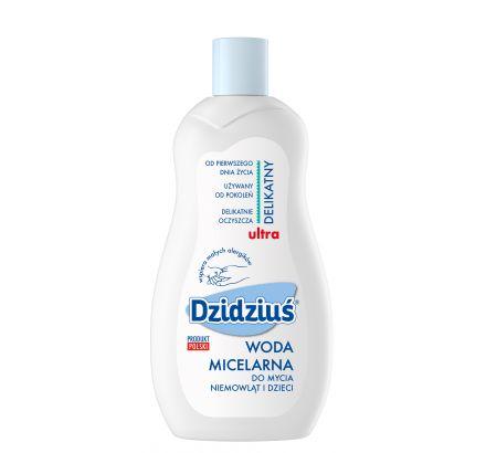 Dzidziuś specjalistyczna woda micelarna do mycia niemowląt i dzieci 500ml