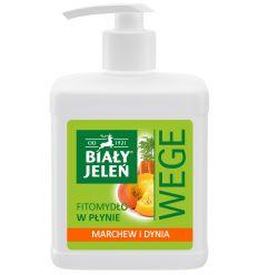 Biały Jeleń FITOmydło w płynie marchew i dynia WEGE 500 ml