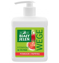 Biały Jeleń FITOmydło w płynie pomidor i papryka WEGE 500 ml