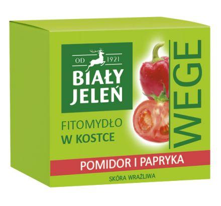 Biały Jeleń FITOmydło pomidor i papryka WEGE 130g