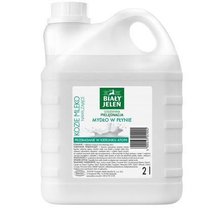 Mydło w płynie z ekstraktem z koziego mleka Biały Jeleńhipoalergiczny