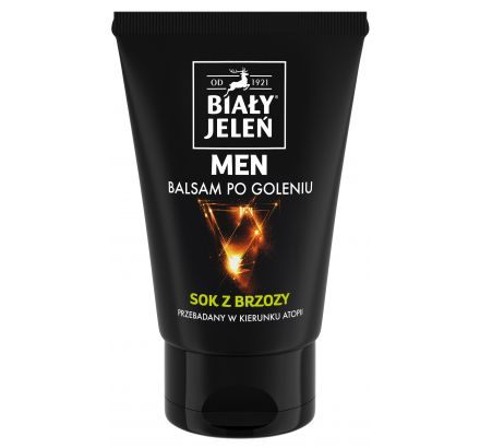 Balsam po goleniu FOR MEN Biały Jeleń Hipoalergiczny