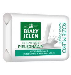 Mydło Premium z ekstraktem z koziego mleka Biały JeleńHipoalergiczny