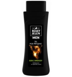 Żel pod prysznic Biały Jeleń hipoalergiczny FOR MEN z ekstraktem z brzozy