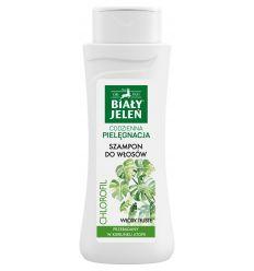 Biały Jeleń szampon do włosów z naturalnym chlorofilem 300ml