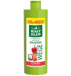 Biały Jeleń FITOkoktajl do mycia włosów pomidor i papryka WEGE 400ml (250ml + 150ml więcej)