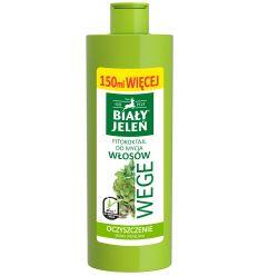 Biały Jeleń FITOkoktajl do mycia włosów pietruszka i karczoch WEGE 400ml (250ml + 150ml więcej)