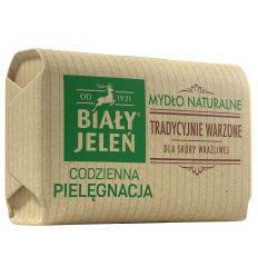 Biały Jeleń mydło z lnem Premium 100g