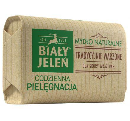 Mydło Premium z lnem Biały Jeleń Hipoalergiczny