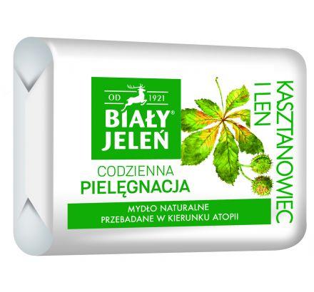 Mydło Premium z ekstraktem z kasztanowca Biały Jeleń Hipoalergiczny