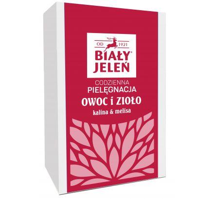 Biały Jeleń Owoc i Zioło kalina&melisa - zestaw myjący