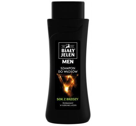 Szampon do włosów Biały Jeleń hipoalergiczny FOR MEN z sokiem z brzozy