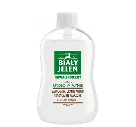 Mydło w płynie zapas Biały Jeleń hipoalergiczny