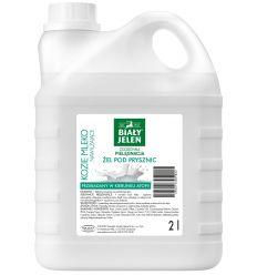 Żel pod prysznic Biały Jeleń hipoalergiczny z kozim mlekiem