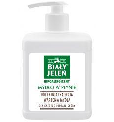 Mydło w płynie z pompką Biały Jeleń hipoalergiczny