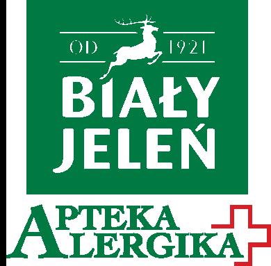 logo Biały Jeleń Apteka Alergika